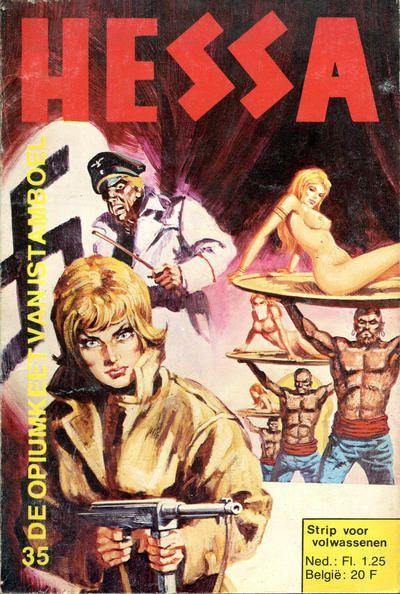 Cover for Hessa (De Vrijbuiter; De Schorpioen, 1971 series) #35