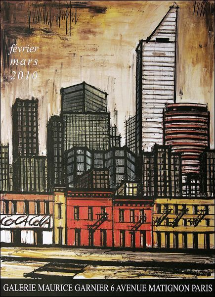 Bernard Buffet | Peintre francais, Buffet peintre, Peinture de new york