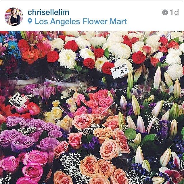 La Fashion District Has A Flower District Awesomeness Pinterest