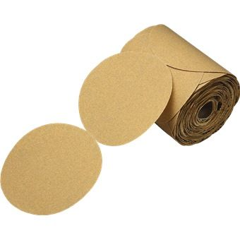 3m Stikit Paper Disc Roll 127mm 100pcs Roll Gold Paper Paper Wooden Toy Car