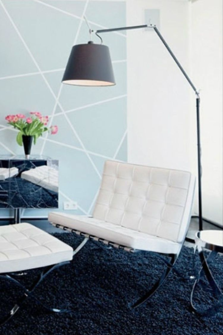 Tolomeo Mega Floor Lamp Silver With Images Silver Floor Lamp Floor Lamp Interior Design