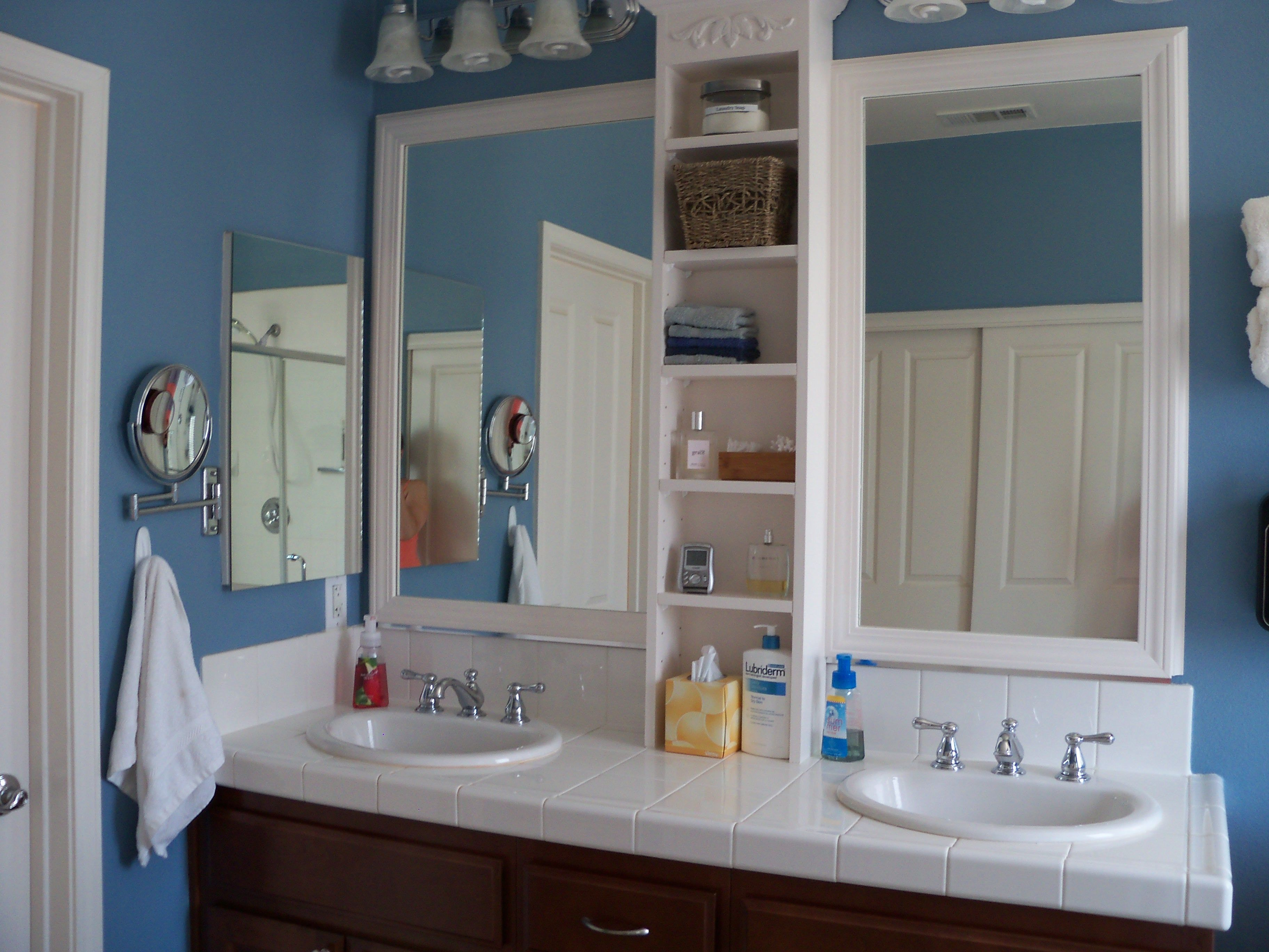 with shelf of new mirrors shelves bathroom mirror full size design at home wonderful