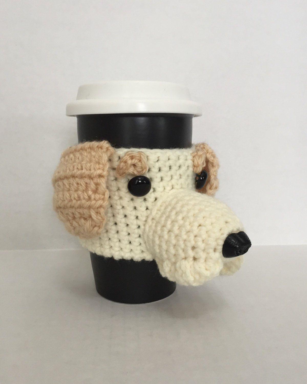 Labrador Mug Cozies/Dog Mug Cozy/Dog Cup/Custom Dog Mug/Yellow Lab ...