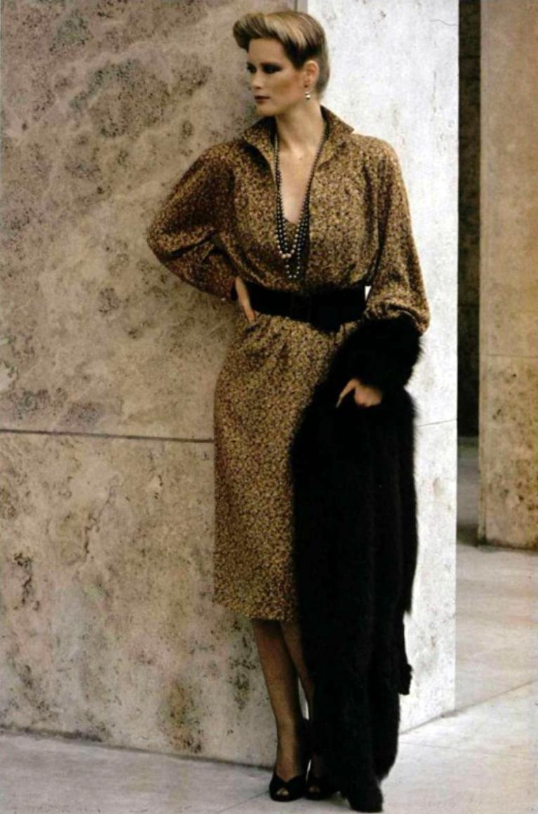 L'Officiel magazine 1978. Nina Ricci