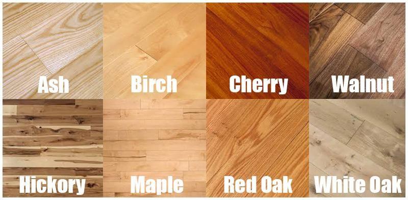23 Types Of Hardwood Flooring Species Styles Edging Dimensions