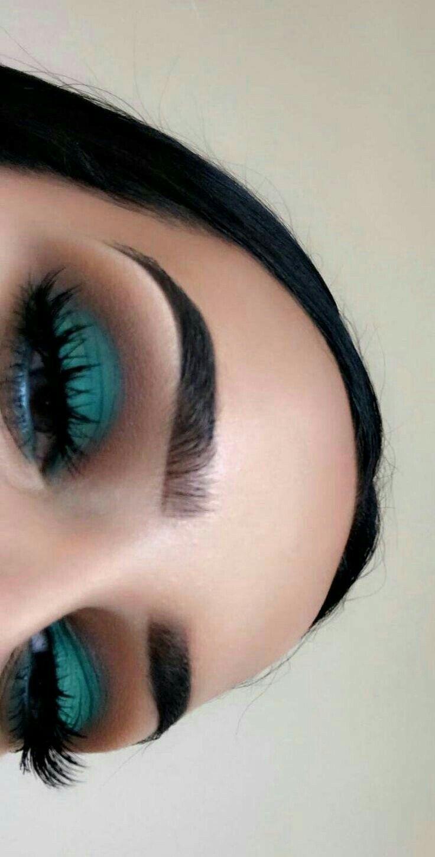 Peacock Inspired Dramatic Eye Makeup Ideas  Peacock Eye Makeup Samples  Tips  Makeup