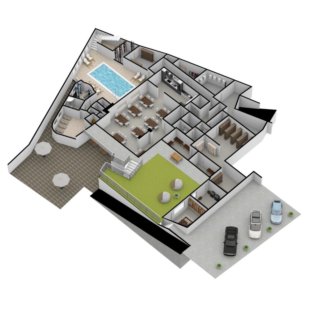 Big Plan Made On Floorplanner Com In 2020 Floor Plans Create Floor Plan Interior Design Software