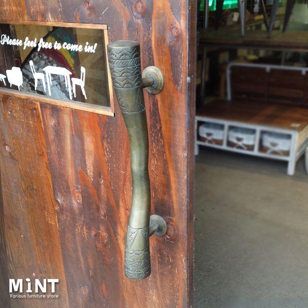 楽天市場 アンティーク真鍮ハンドル 送料無料 家具パーツ 引き戸 扉