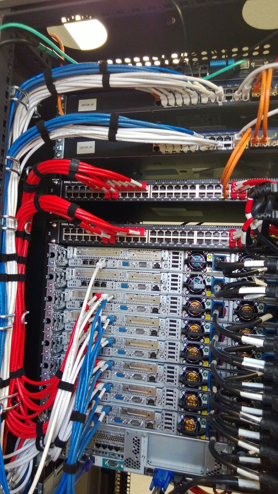 Cables In New Rack In 2020