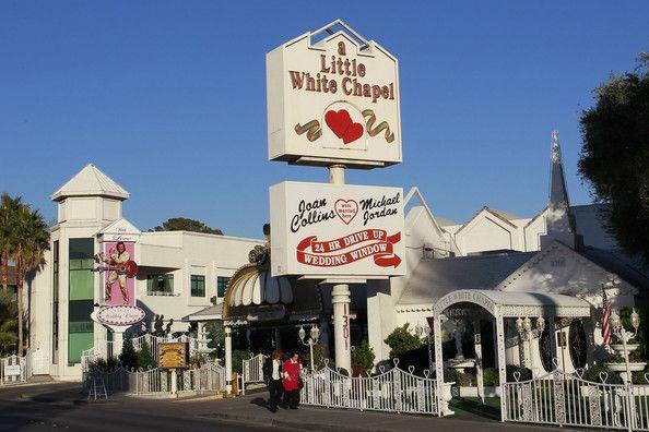 Little White Chapel Las Vegas Little White Chapel Chapel Wedding Honeymoon Inspiration