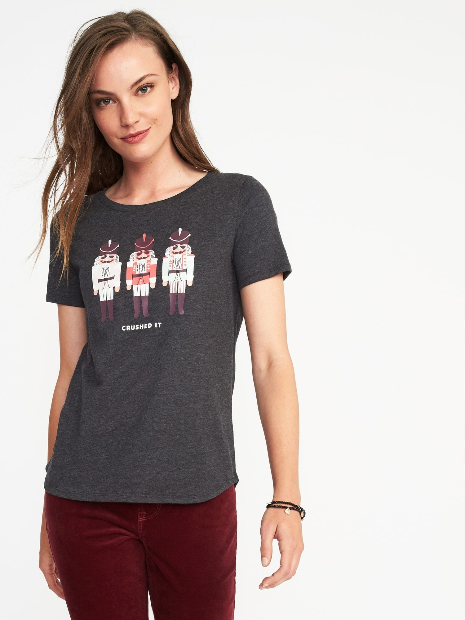 Old Navy Womens Christmas Shirts | Lauren Goss