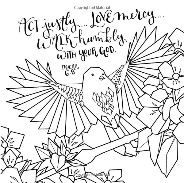 Whatever Is Lovely: A Coloring Book for Reflection and