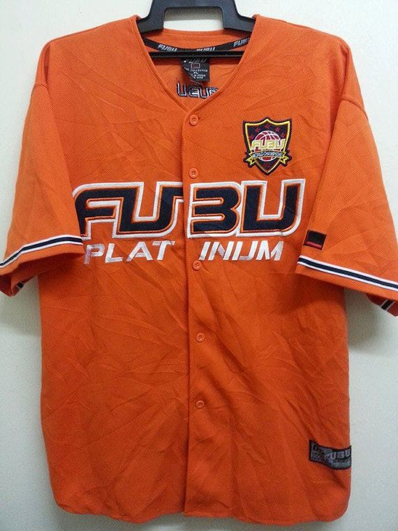 1a8157707 Vintage 1990s 92 Fubu World Champion Platinnum by SuzzaneVintage ...