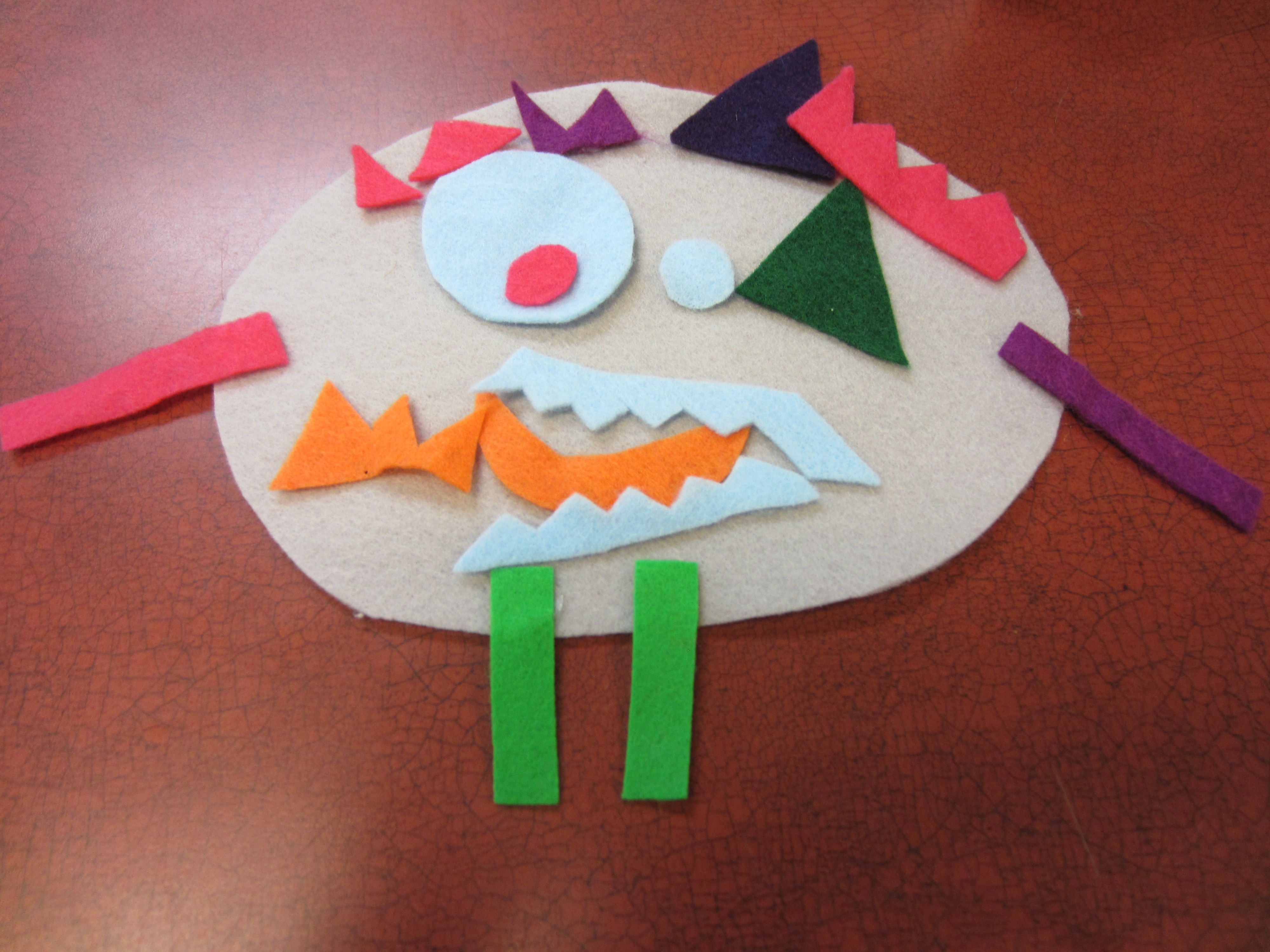 We Played Roll A Monster During Preschool Storytime To