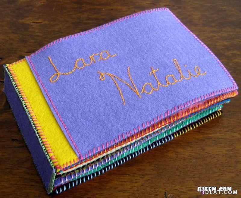 اعمال يدويه من الجوخ صور اعمال فنيه من الجوخ Felt Book 1st Birthday Presents Cute Crafts