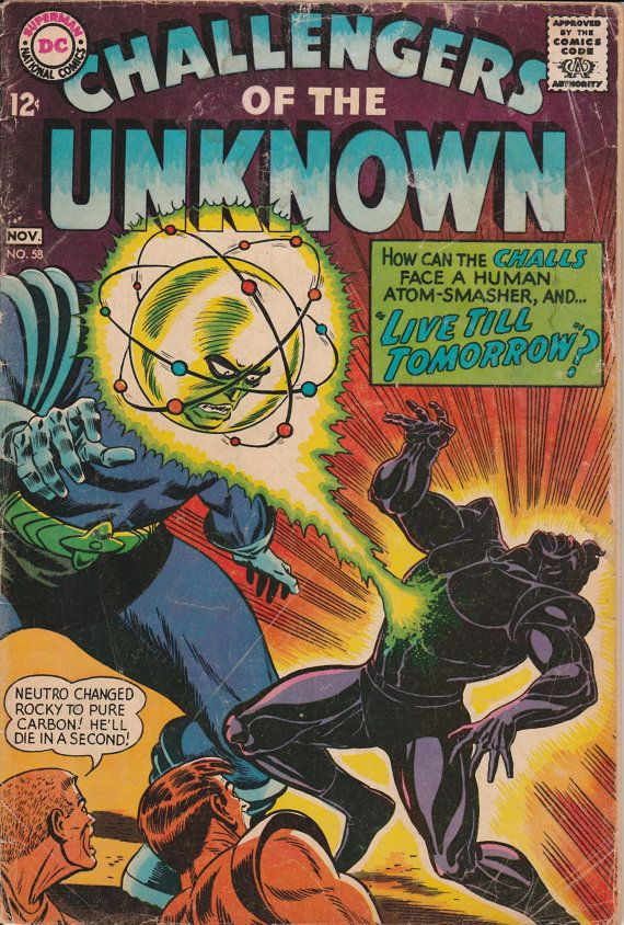 Challengers of the Unknown No. 58  1967 by TheSamAntics on Etsy