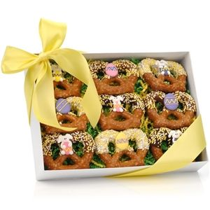 Easter chocolate dipped pretzel twists easter chocolate dipped easter chocolate dipped pretzel twists negle Images