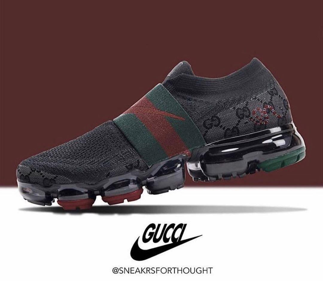 lavanda Alianza Tentación  Nike Vapormax x Gucci concept courtesy of @sneakrsforthought Launch or Drop  []...-#airmax #complex #complexkicks #complexsne… | Sneakers, Nike air max,  Nike shoes