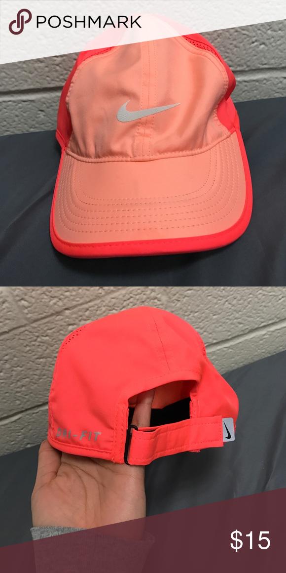 de68cfe3f11 Women s Nike hat Pretty neon and peach color Nike hat. Nike Accessories Hats