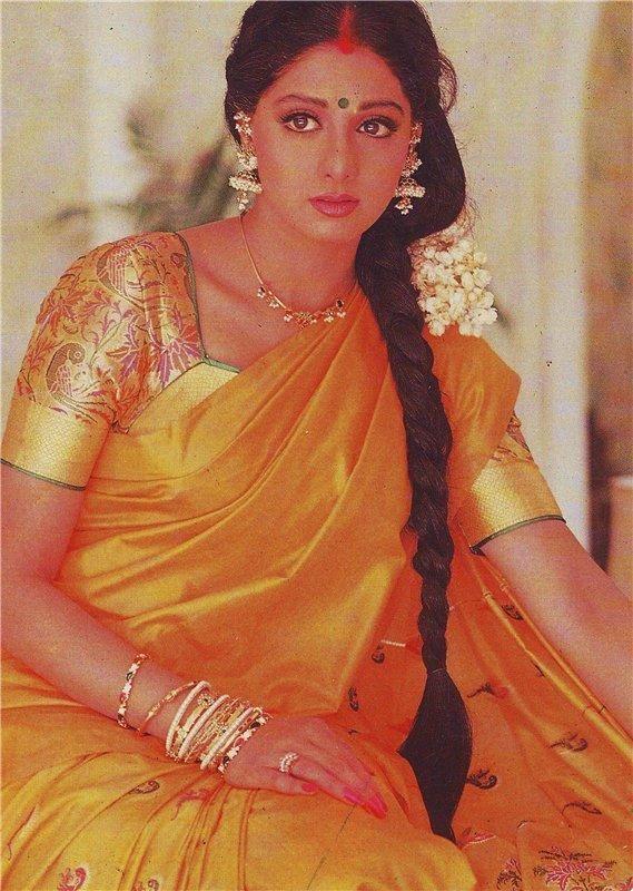 Sridevi In Her Last Scene From Chandni