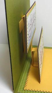 Angel Stamper 2 Tutorial Double Popup Card Fancy Fold Cards Fun Fold Cards Pop Up Cards