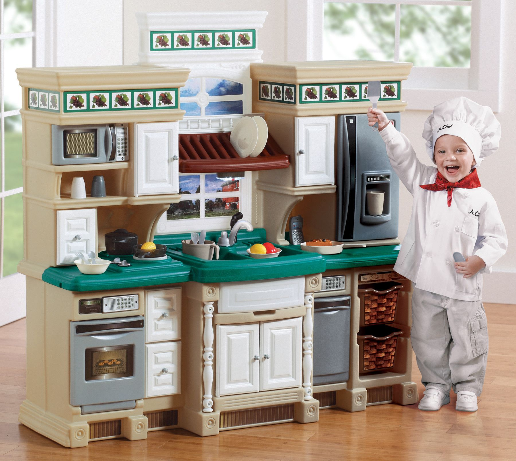 Step2 Lifestyle Deluxe Kitchen Set Reviews Wayfair Play
