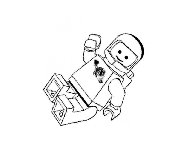 Lego Movie Coloring Pages Benny Zeichnen