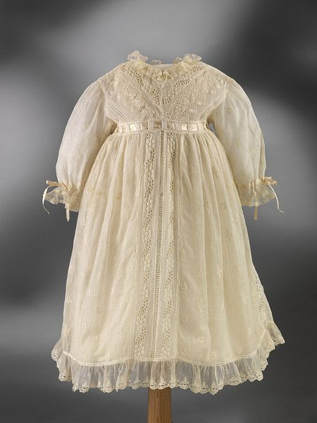 Victorian Baby Dress Cream And Sugar Victorian