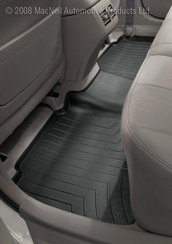 Weathertech Custom Fit Rear Floorliner For Ford Edge Lincoln Mkx Black Weather Tech Car Floor Mats Car