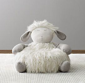 Poufs & Floor Pillows | RH baby&child