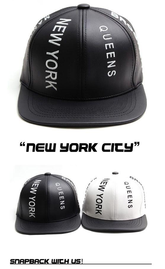 c9972d630ef62 BROOKLYN new york city leather Snapback Hiphop baseball cap hiphop snapback  hat  BROOKLYN  snapback