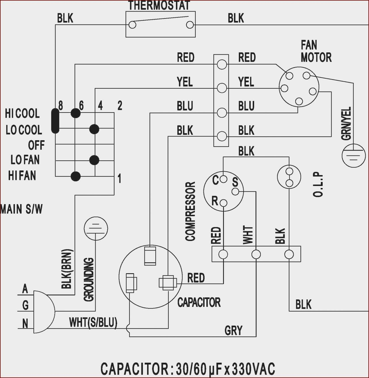 17 Compressor Capacitor Wiring Diagram Electrical Circuit Diagram Ac Wiring Ac Capacitor