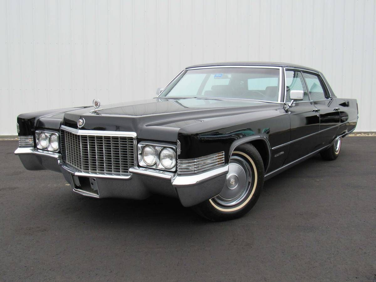 1970 Cadillac Fleetwood Brougham | Old Rides 5 | Pinterest ...