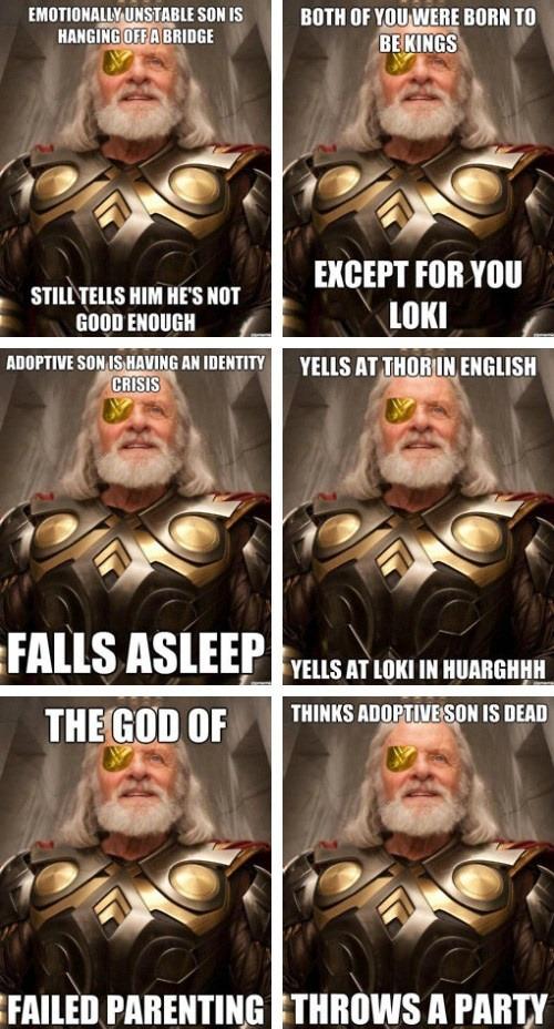 El Descanso Del Escriba Feliz Dia Del Padre Marvel Memes Marvel Loki
