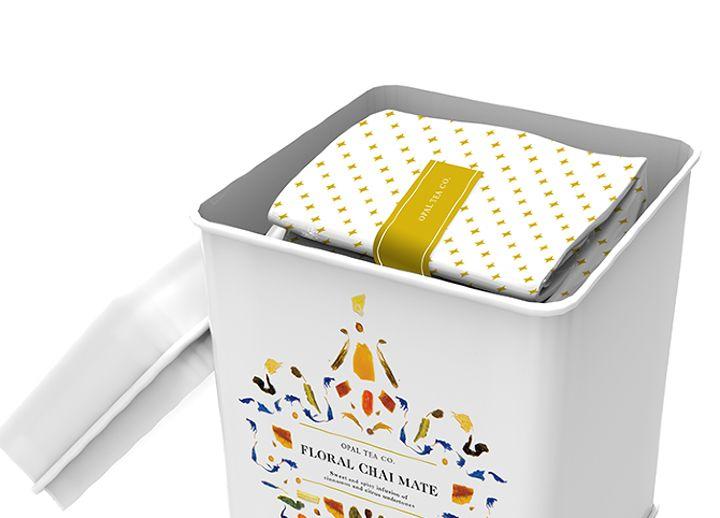 Opal Tea Co packaging by Haruko Hayakawa Opal Tea Co. packaging by Haruko Hayakawa
