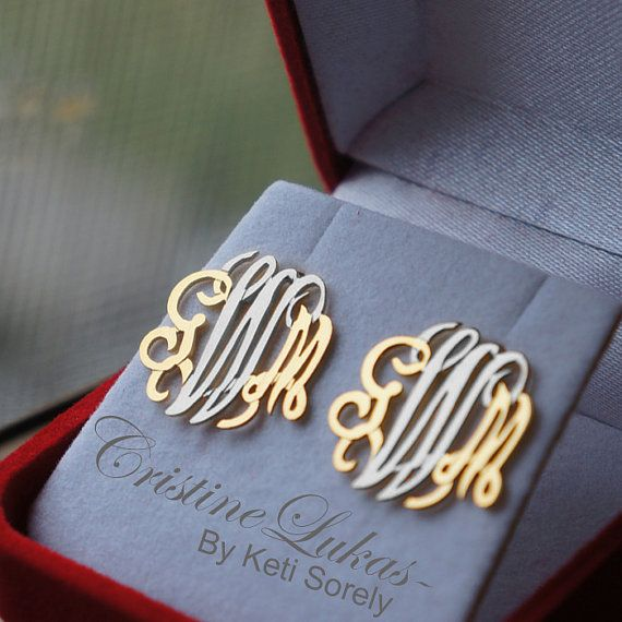 A Wedding Gift From The Groom To Bride With Her New Initials Note