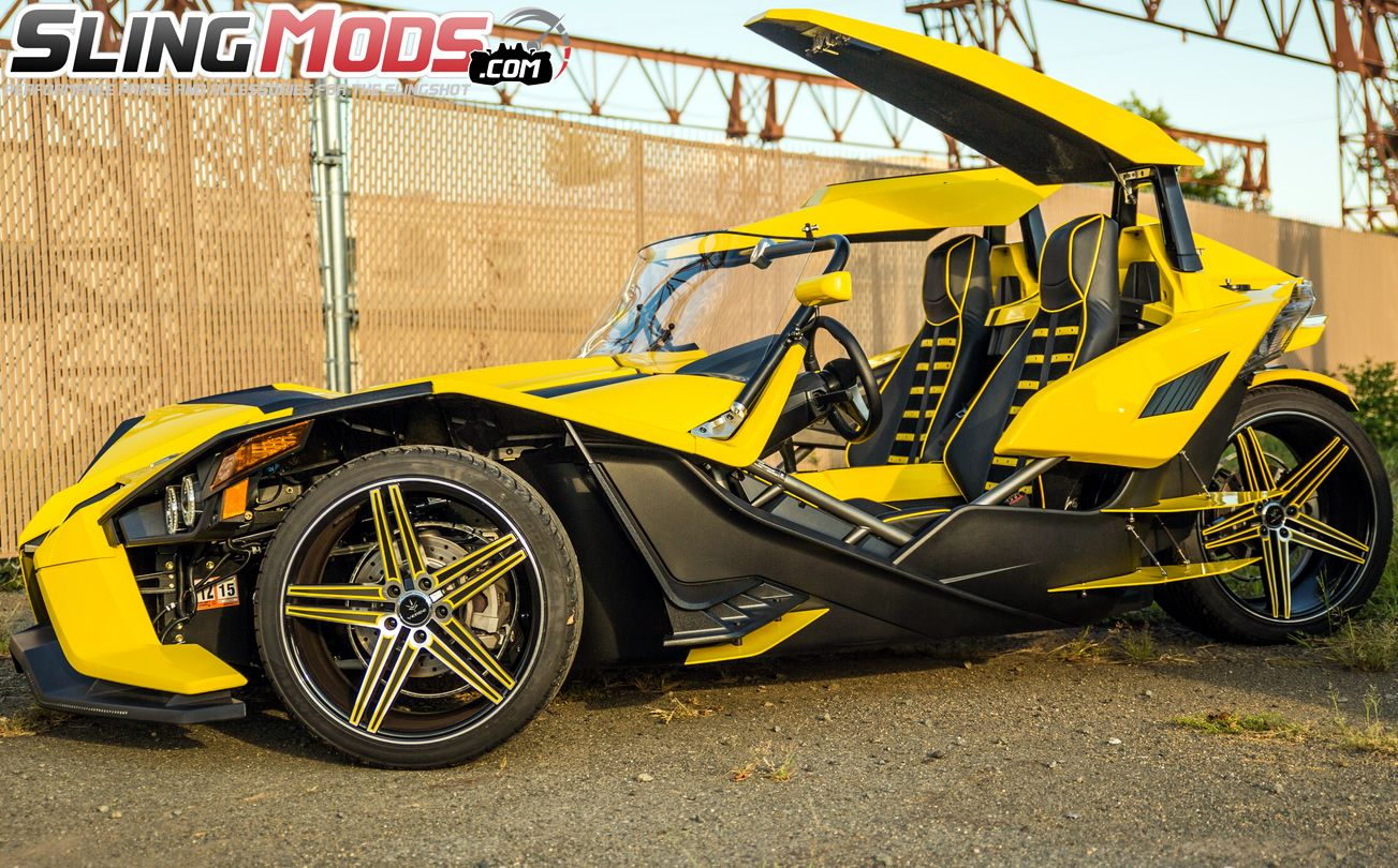 Polaris Slingshot Twin Canopy Roof Top System By Metricks Polaris Slingshot Slingshot Canopy