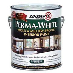 Perma White 174 Mold Amp Mildew Proof Interior Paint Is