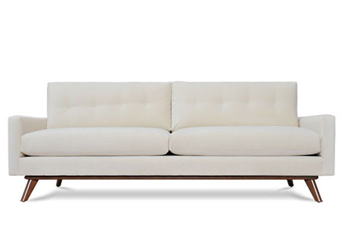 Sofa Slipcovers Fillmore Sofa l Thrive Furniture Contemporary Furniture Midcentury design many colors avail