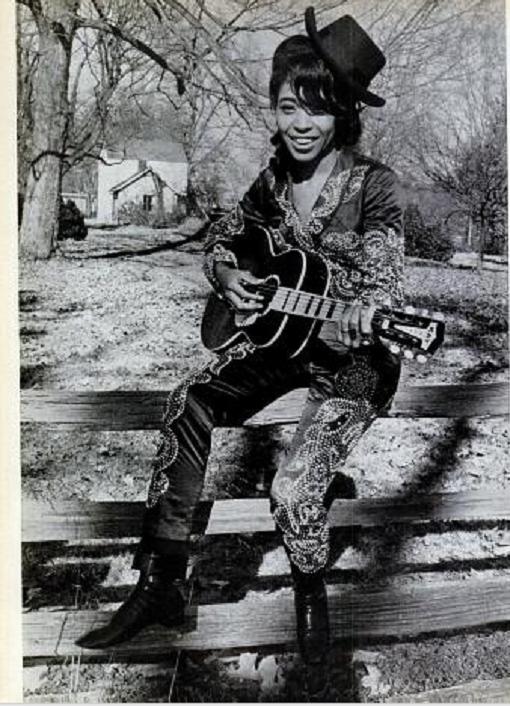 Singer Linda Martell, originally named Thelma Bynem, is an