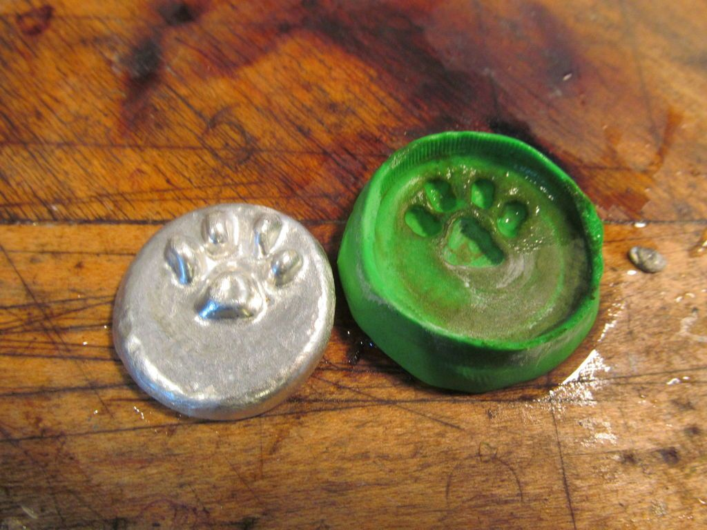 Paw Tag | Soldered Art | Soldering jewelry, Melting metal