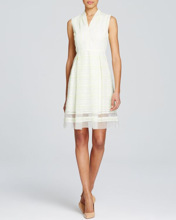 T Tahari Sully Illusion Hem Dress | My little white dresses ...