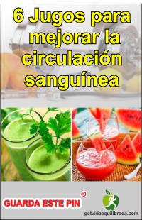 6 Jugos Para Mejorar La Circulación Sanguínea Vida Equilibrada Jugos Para La Circulacion Jugos Circulacion Sanguinea