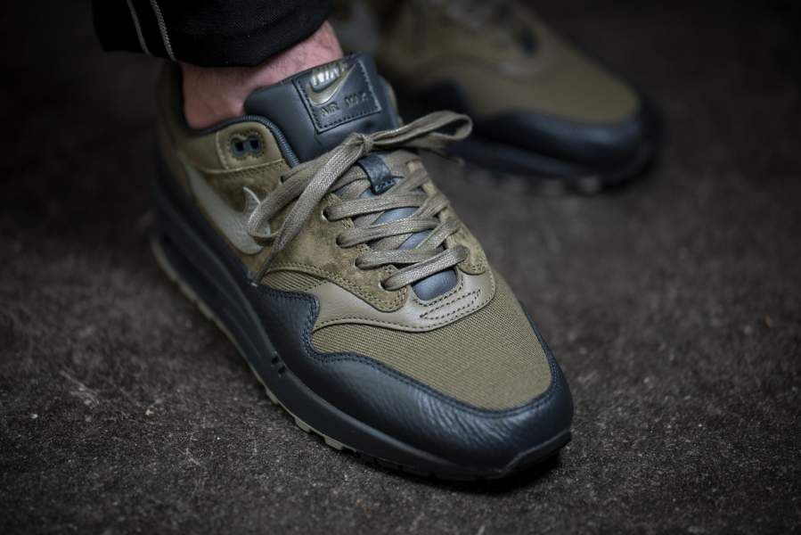 d362b9236c17 ... Nike - Air Max 1 Premium Dark Stucco (olive black) - 875844- ...