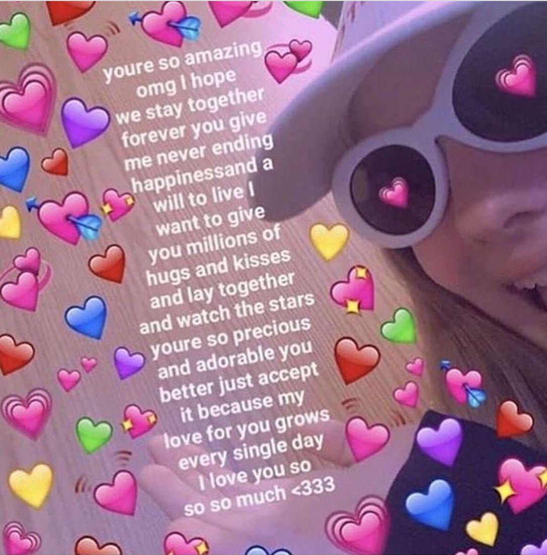Sariitaboniita Cute Love Memes Funny Crush Memes Love You Meme