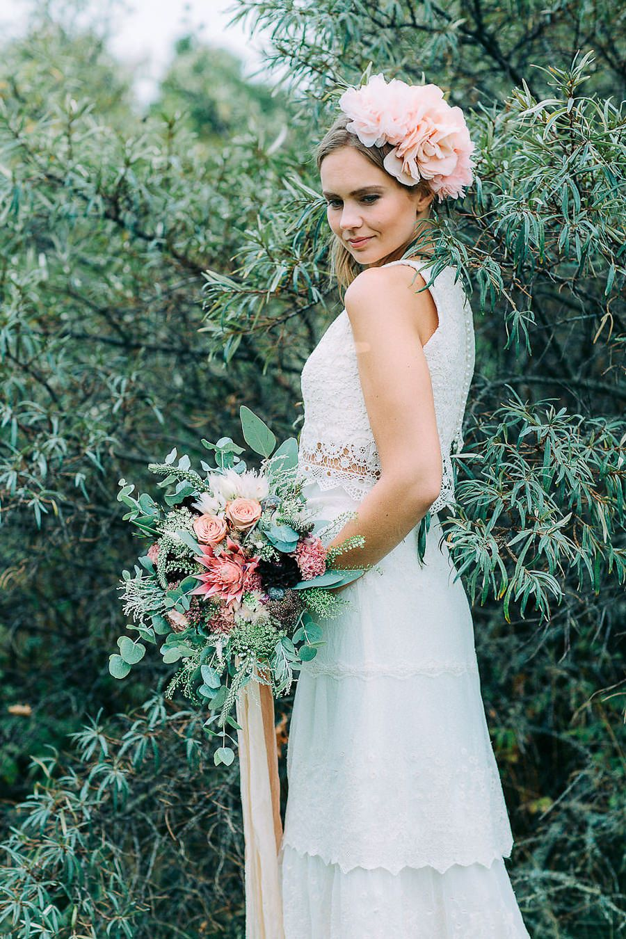 Wedding inspiration shoot in finland petra veikkola photography