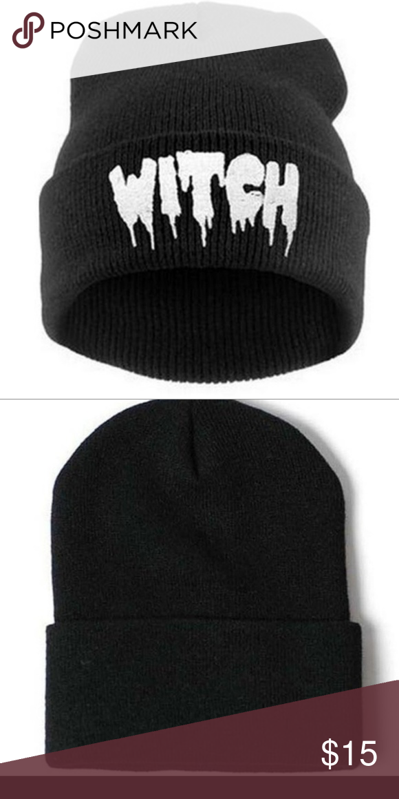 New witch women s beanie black occult New without tags black women s witch  beanie. Tags black craft Killstar Accessories Hats 56b4f93774f
