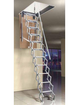 Best Mobirolo L3 Steel Folding Loft Ladder Ladder Clever 400 x 300