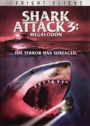 Dvd Cover For Shark Attack 3 Megalodon Megalodon Shark Attack Shark