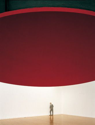 anish kapoor -at the edge of the world